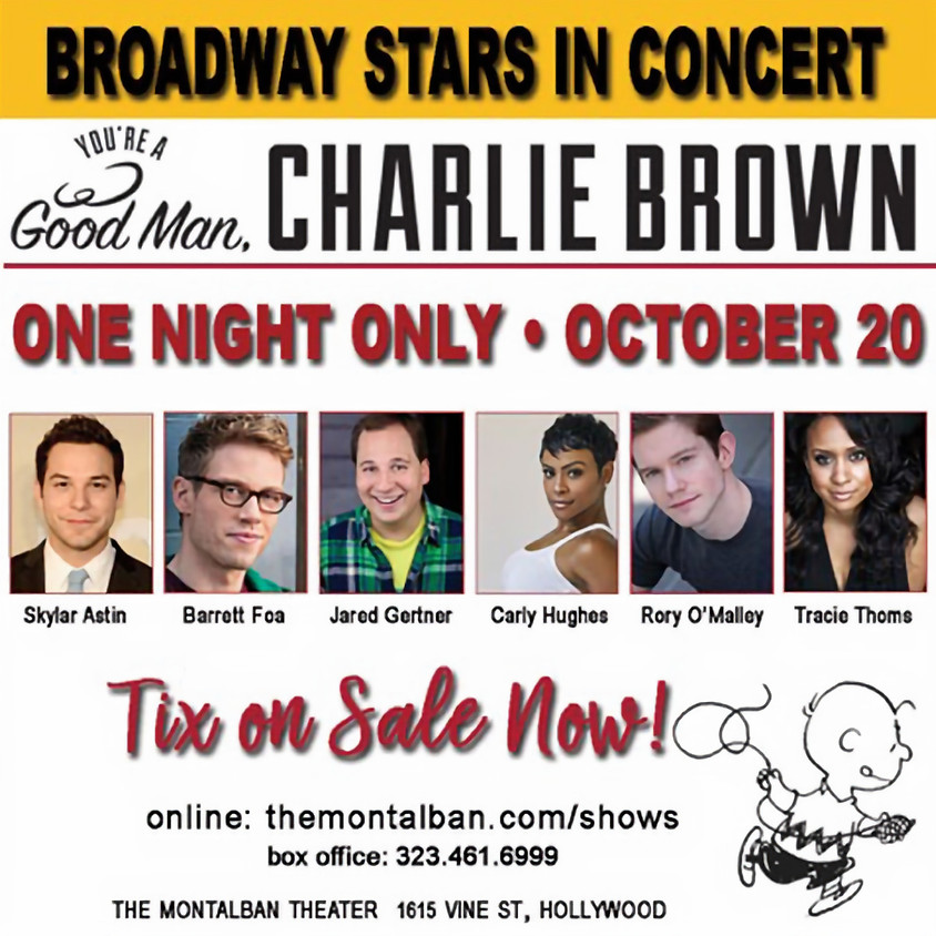 You're A Good Man, Charlie Brown Benefiting PAWS/LA