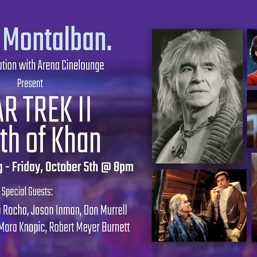 KHAN-CON - STAR TREK II: The Wrath of Khan