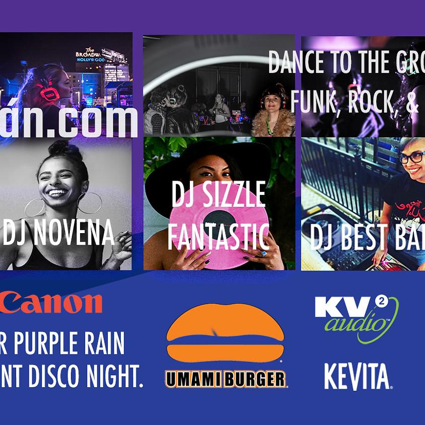 PURPLE RAIN & 80s Themed Silent Disco Night