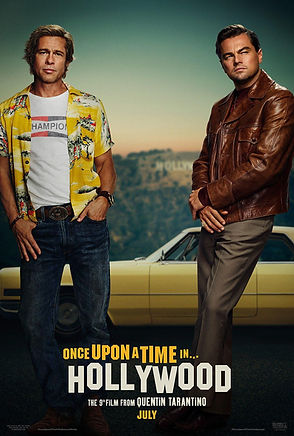 Once Upon a Time in Hollywood - poster.j