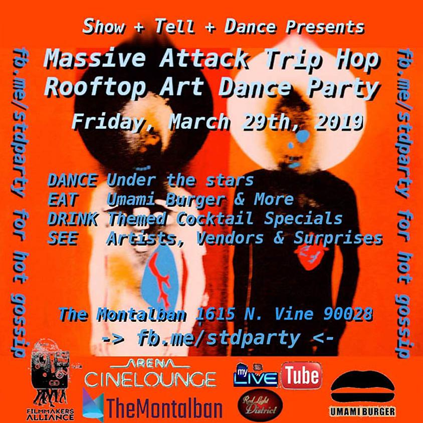 Massive Attack Trip Hop Rooftop Art Dance Party