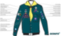 Scout Badge Positions