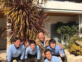 庭仕事日和です(^^)