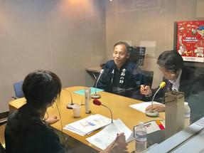 (報告)「ラジオで生活ナビゲート 健康経営ラジナビ」に出演