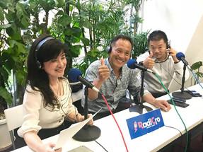 ラジオ【とっしーの部屋】に出演