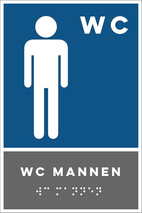 Aanwijzing - WC mannen