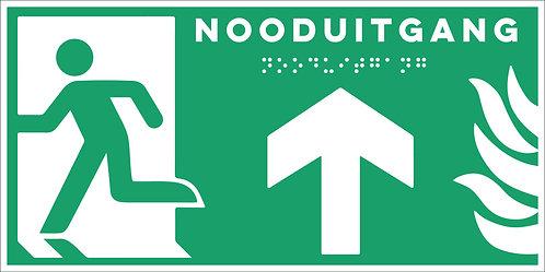 Evacuatie - Nooduitgang boven