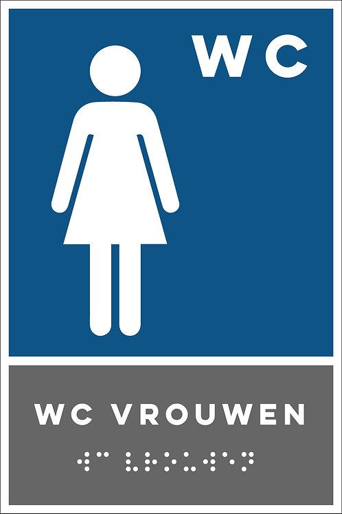 Aanwijzing - WC vrouwen