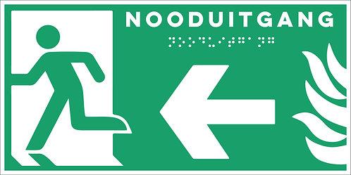Evacuatie - Nooduitgang links
