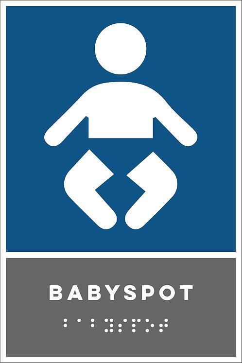 Aanwijzing - babyspot