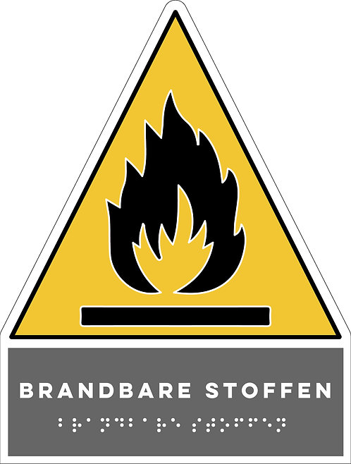 Gevaar - Brandbare stoffen