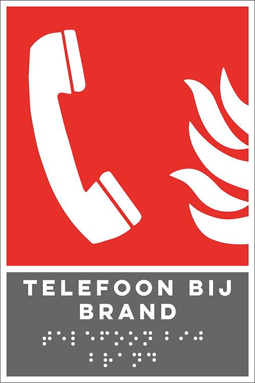 Brand - Telefoon bij brand