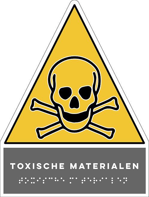 Gevaar - Toxische materialen
