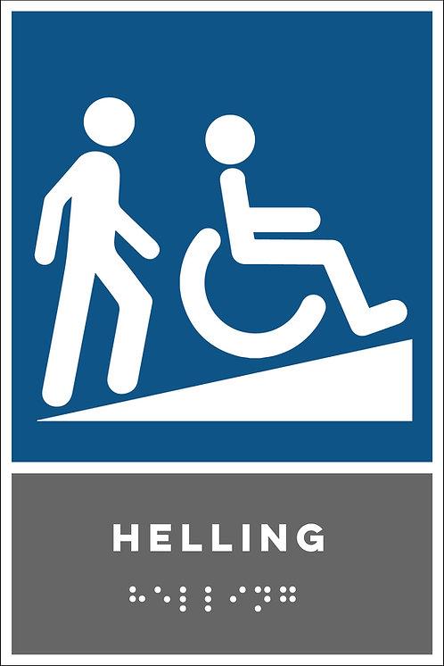 Aanwijzing - Helling