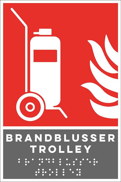 Brand - Brandblusser trolley