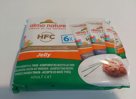 Almo nature HFC multipack 3 saveurs thon 6x55gr