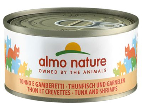 Almo nature 6x70g thon/crevettes