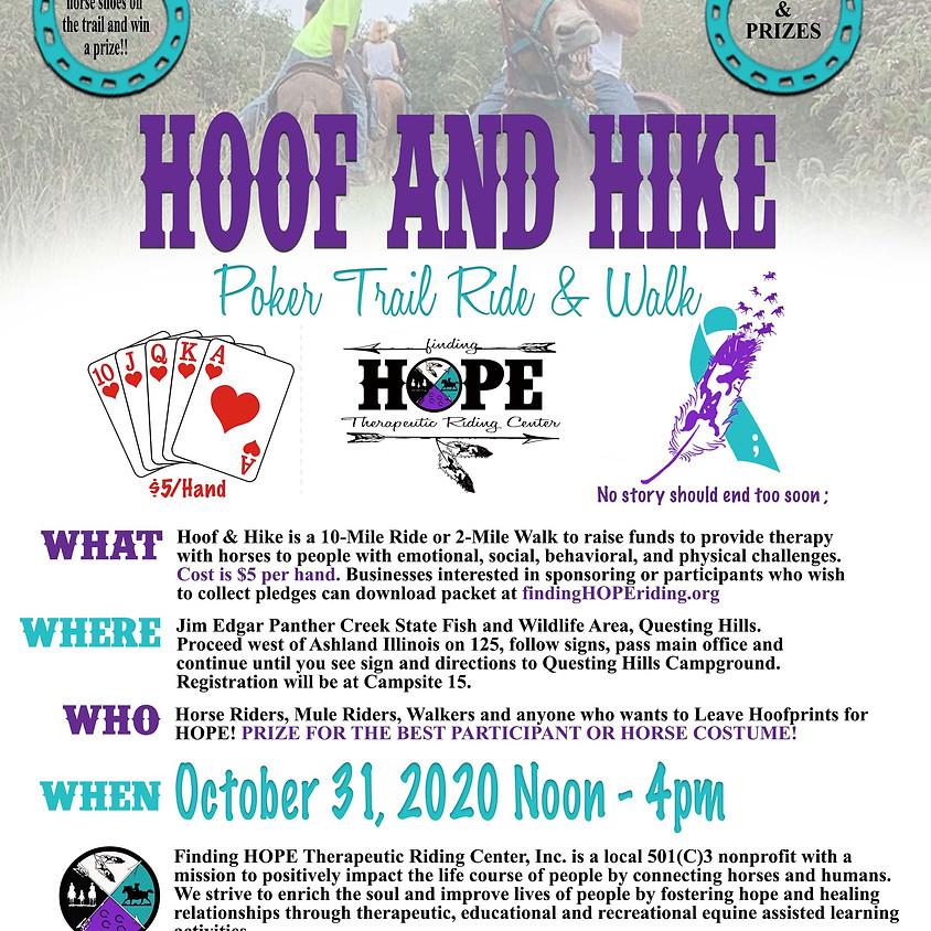 Hoof and Hike Poker Trail Ride & Walk