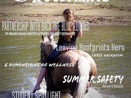 SNEAK PEAK: Download your free digital Summer 2021 Leaving Hoofprints Magazine Now!