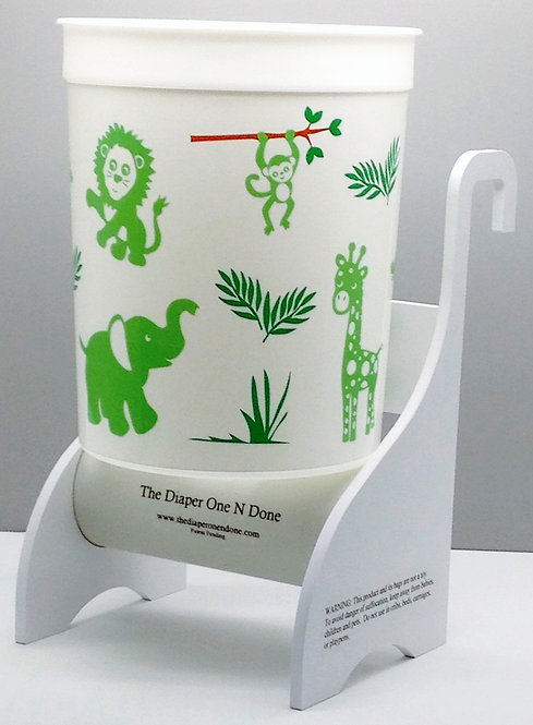 Jungle Animals Green (100 bags included)