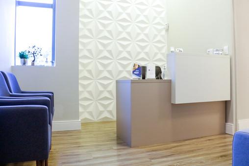 Detalhes de nossa recepção - Karina Marani Odontologia