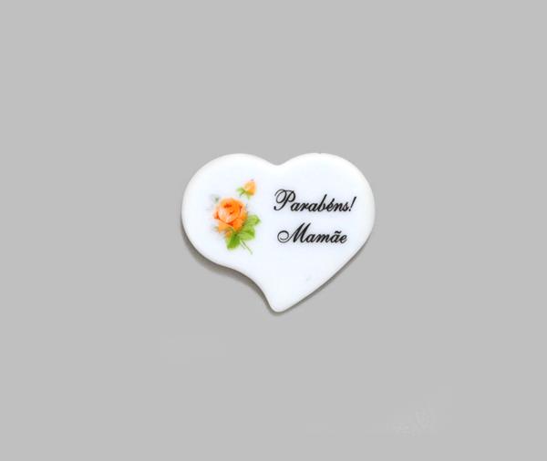 Lacre Placa Coração | Ref.: 87 | Med
