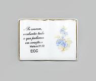 Livro Pequeno | Ref.: 42 | Medida: 8 cm x 5,5 cm