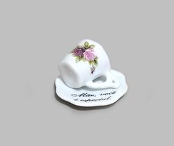 Mini Xícara Quadrada Pequena