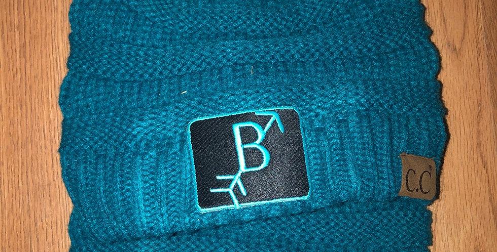 Turquoise Beanie