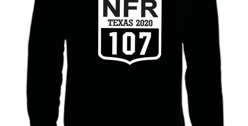 NFR Back Number Long Sleeve