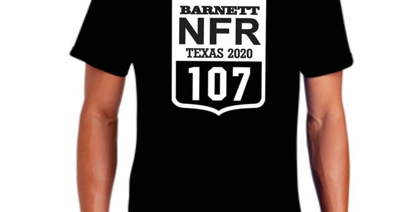 NFR Back Number T shirt