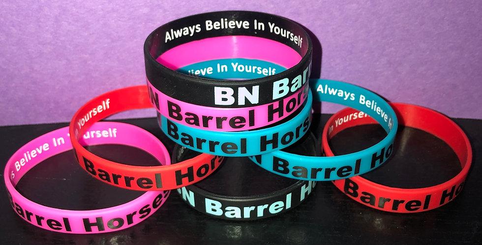 """BN Barrel Horses """"Always Believe In Yourself"""" Bracelet"""