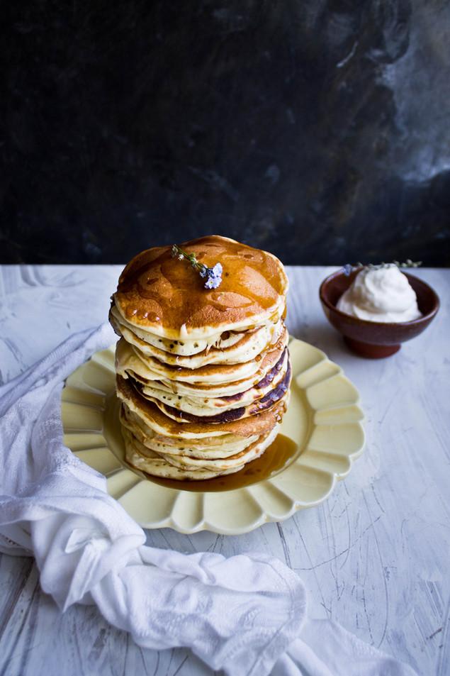 Pancakes au buttermilk