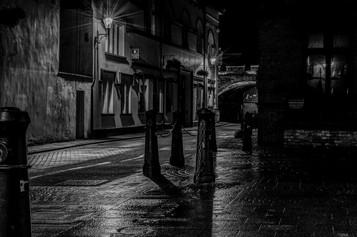 'Dark Street Derry' by Brendan Davitt ( 10 marks )