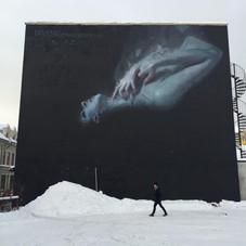 Wall for Ugangprosjektet - Drammen, Norway