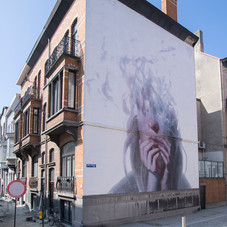 Mural for The Crystal Ship, Belgium