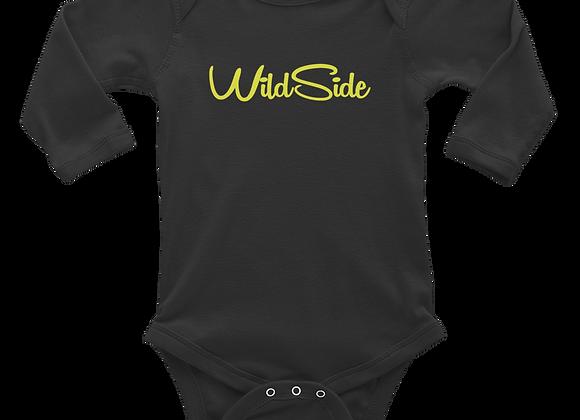 Wildside Long Sleeve Baby Onsie