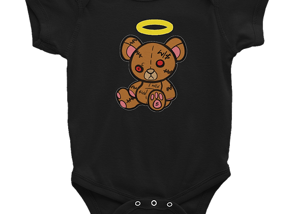 Wildside Black Baby Onsie