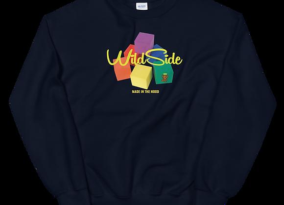 W$ ColorBlock Sweatshirt
