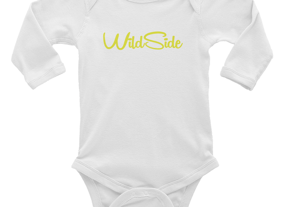 Wildside Long Sleeve Baby Onsie