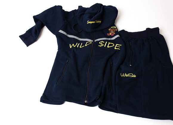 Navy Wildside Tracksuit