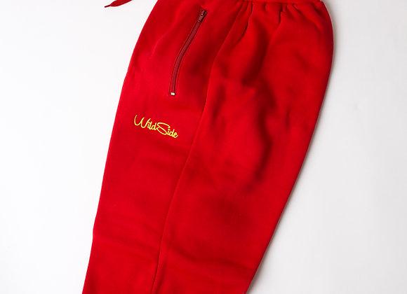 Red Wildside Pants