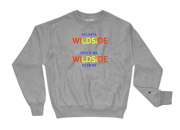 Wildside Multi-Color Champion Crewneck