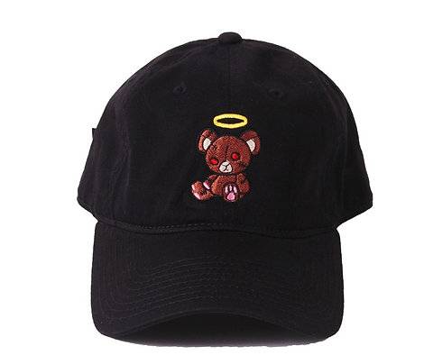 W I L D $ I D E (DAD-HAT) BLACK