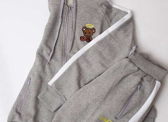 Grey/White Wildside Tracksuit