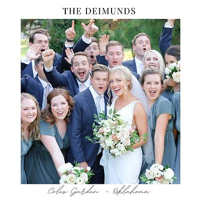 Deimund Wedding Coles Garden