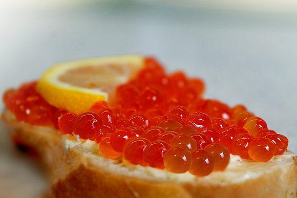 Salmon Caviar, Wild Chum Roe