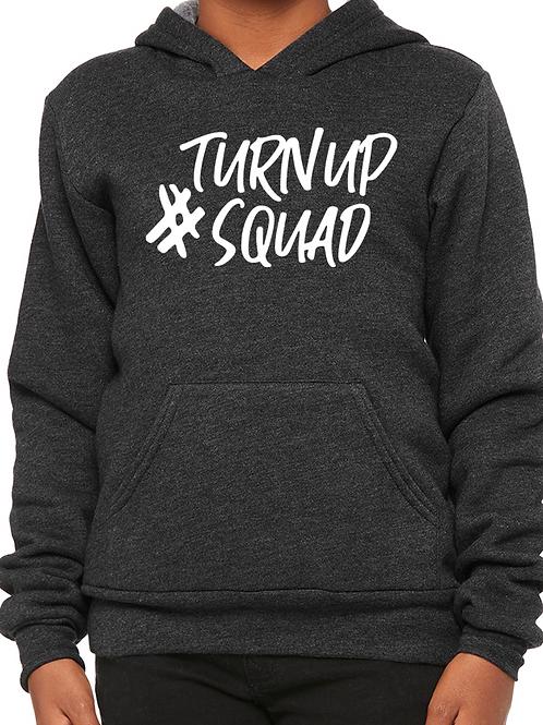 #TurnUpSquad Youth Hoodie