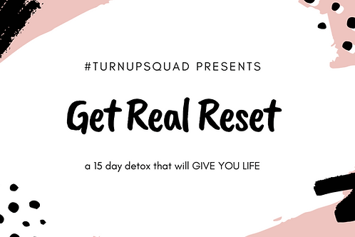 Get Real Reset - 15 day detox