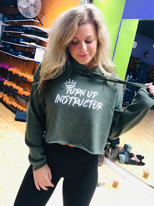 Instructor Cropped Hoodie